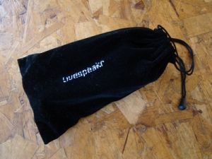LiveSpeakR carry bag