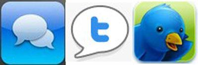 Tweetie -- Twitterfon -- Twitterific